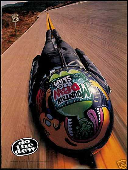 Mountain Dew Bottle Street Luge Route 66 (1997)