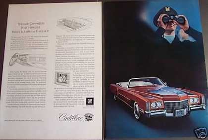 Cadillac Eldorado Convertible Nice Photo (1971)