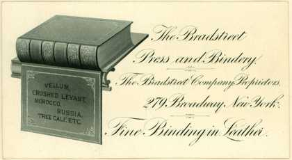 Bradstreet Press and Bindery's book binding and publishing – The Broadstreet Press and Bindery