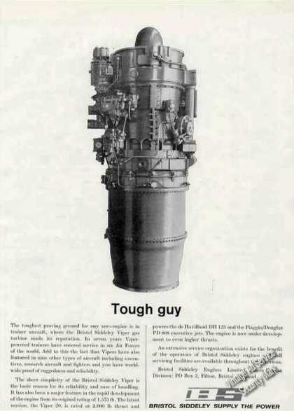 "Bristol Siddeley Viper Gas Turbine ""Tough Guy"" (1963)"