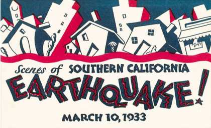 Scenes of Southern California Earthquake (1933)