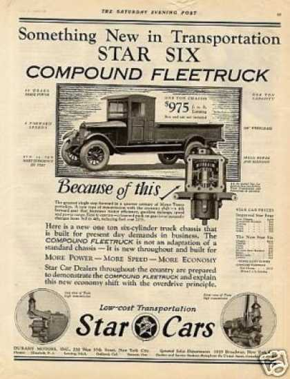 Star Six Compound Fleetruck (1926)