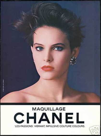 Chanel Maquillage Makeup Pretty Woman Photo (1985)