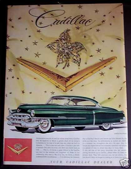Cadillac Cars Autos (1953)