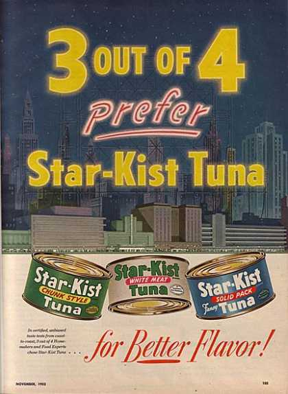"Star Kist's ""3 out of 4 prefer (1953)"