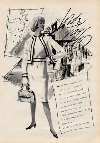 Lord & Taylor 60's Fashion Dress (1964)