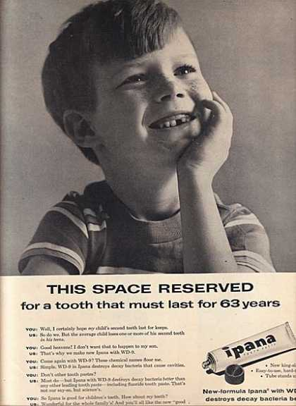 Ipana's Tooth Paste (1956)