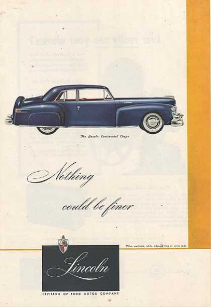 Ford's Lincoln (1947)