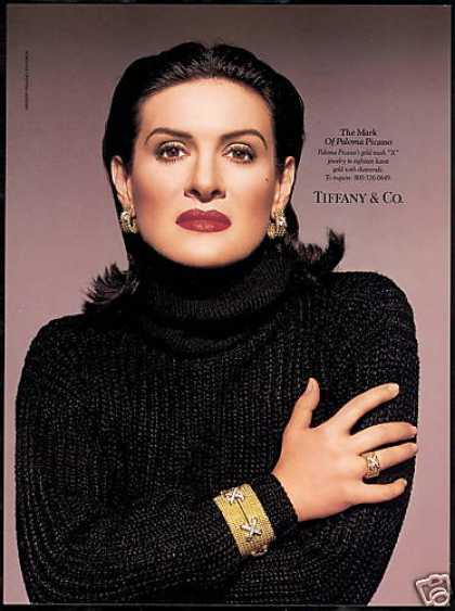 Paloma Picasso Photo X Jewelry Tiffany (1994)