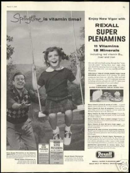 Father Daughter Swing Rexall Drug Store (1956)
