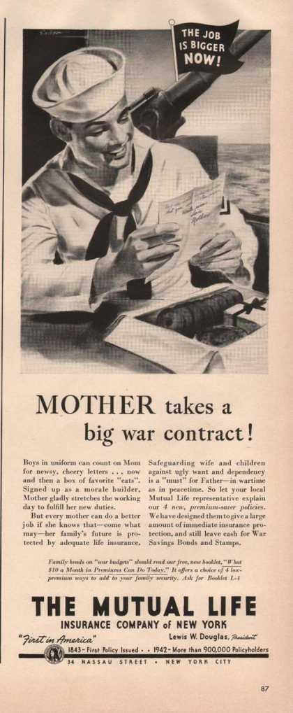 The Mutual Life Insurance Company (1942)