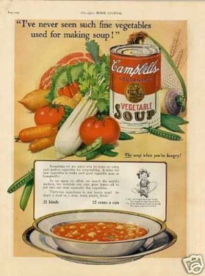 Campbell's Vegetable Soup (1925)