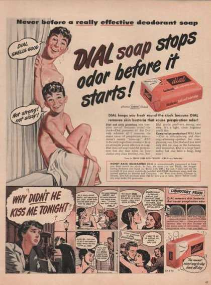 Dial Deodorant Soap Cartoon (1949)