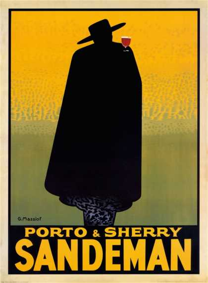 Porto and Sherry Sandeman (1931)