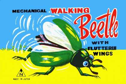 Mechanical Walking Beetle