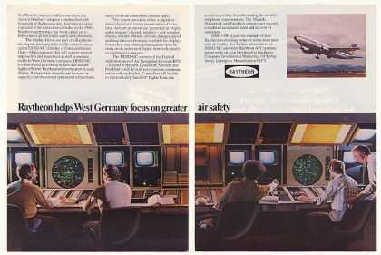 '81 Raytheon West Germany Air Traffic Control Sys 2P (1981)