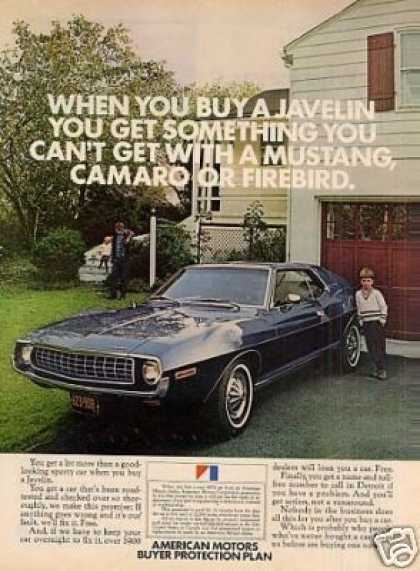 American Motors Javelin Car (1972)