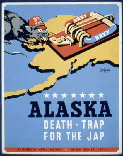 Alaska &#8211; death-trap for the Jap / Grigware. (1941)