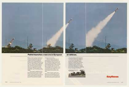 Raytheon Patriot Missile Launch Europe (1985)