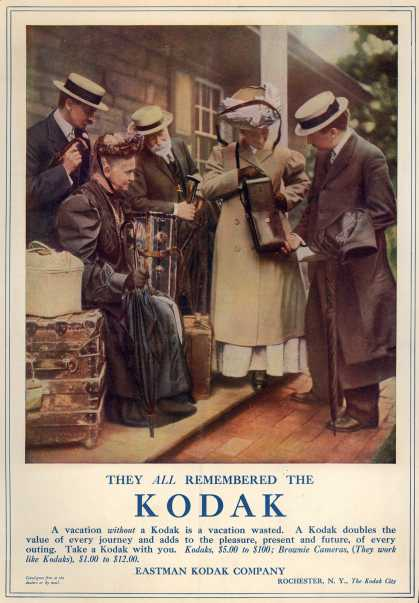 Kodak – They All Remembered The Kodak (1909)