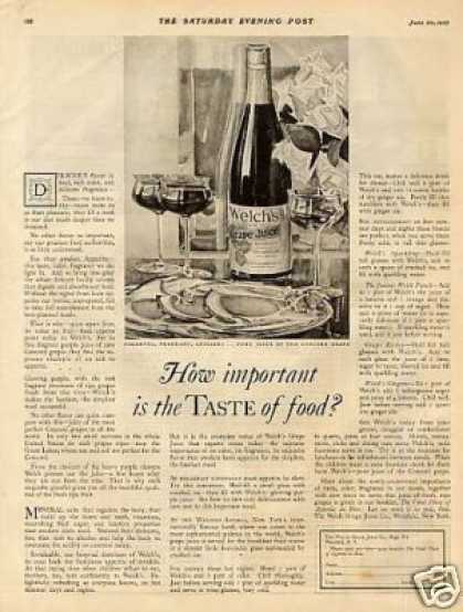 Welch's Grape Juice (1925)