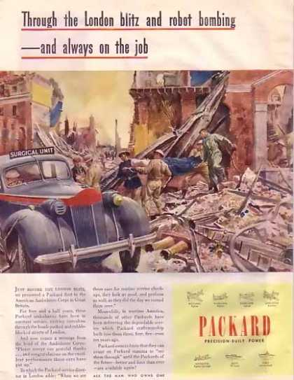 Packard Ambulance Wartime (1945)