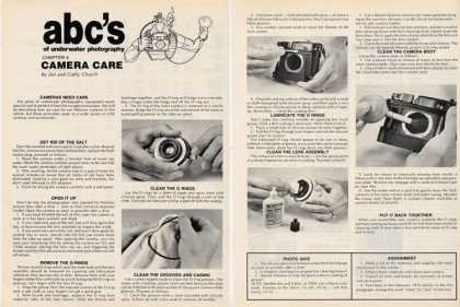 Abcs Underwater Photography Camera Care Article T (1979)