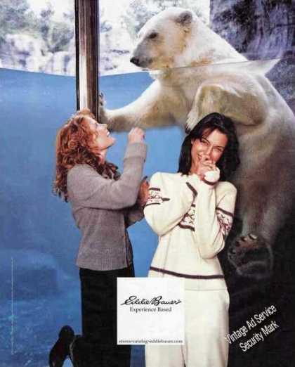 Nice Polar Bear Photo Eddie Bauer Fashion (2000)