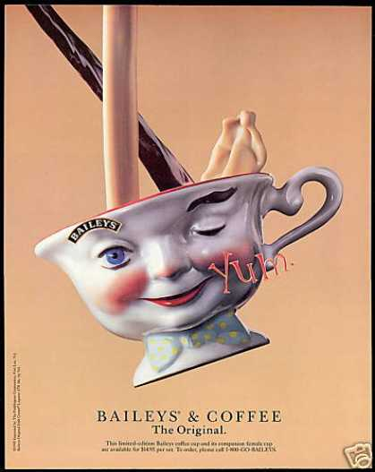 Baileys Irish Cream Liqueur L Ed Coffee Cup (1996)