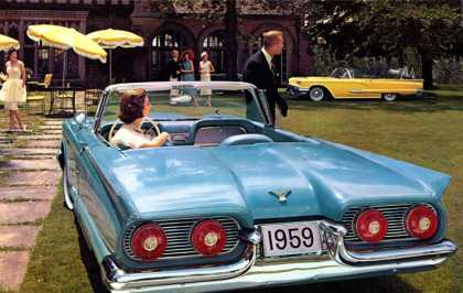 Ford Thunderbird convertible (1959)