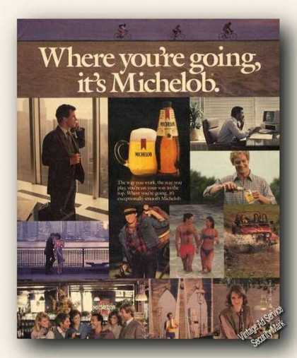 Where You're Going Its Michelob Beer (1984)