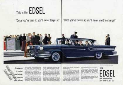 Edsel Citation 4-door Hardtop Collectible Car (1958)
