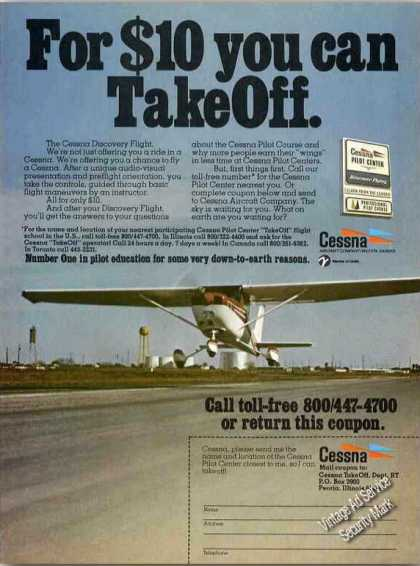 For $10 You Can Take Off Cessna Training (1978)