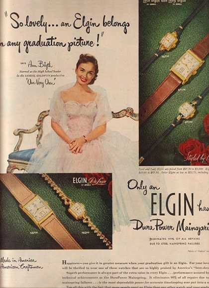Elgin Watches – Ann Blyth (1950)