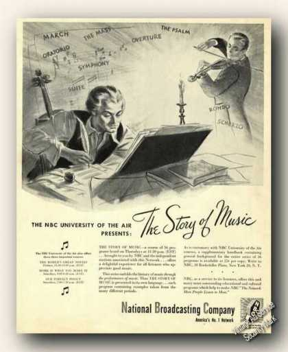 Nbc University of the Air Story of Music (1943)