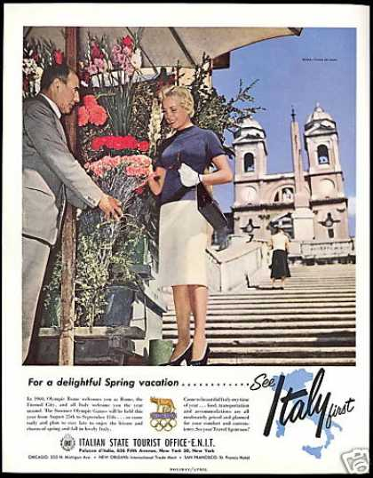 Pretty Woman Italy Travel Summer Olympics (1960)