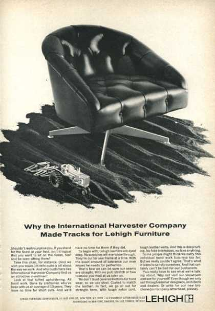 Lehigh Furniture Chair International Harvester (1966)