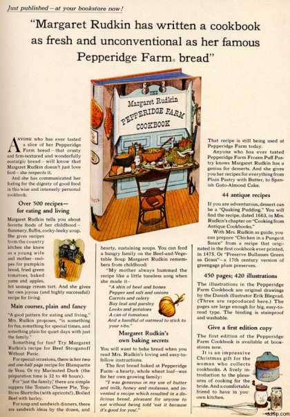Pepperidge Farm Cookbook (1963)