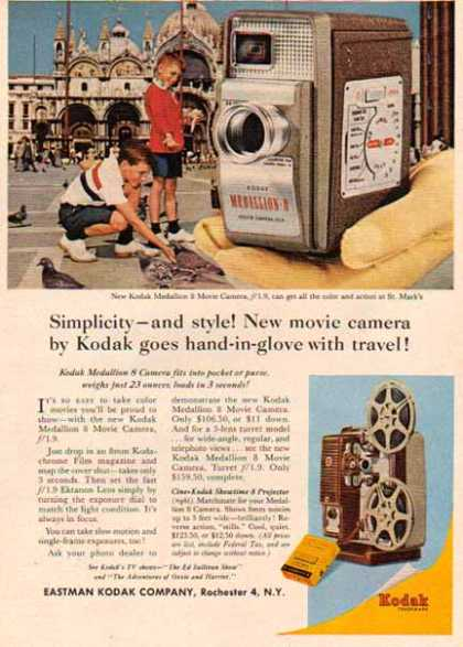 Kodak – Medallion 8 Movie Camera (1961)