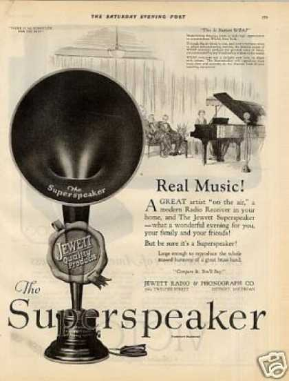 Jewett Radio Superspeaker (1925)