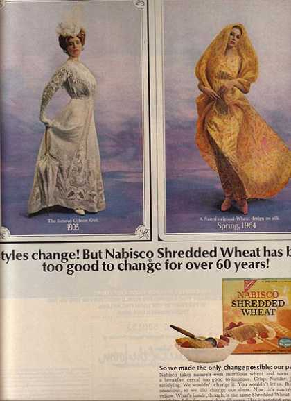 Nabisco's Shredded Wheat Cereal (1964)