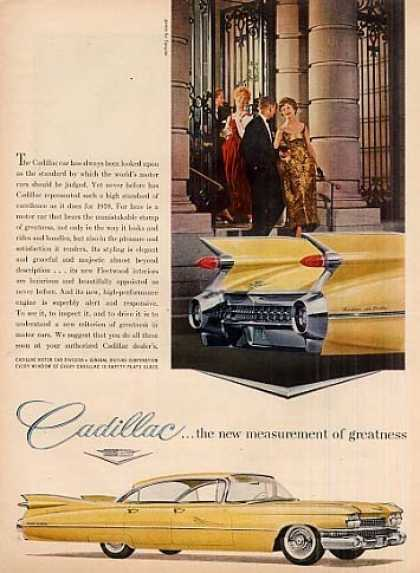 "Cadillac Car Ad ""The New Measurement Of... (1959)"