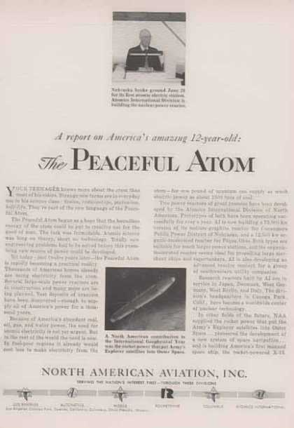 North American Aviation Inc. – The Peaceful Atom – The X15 (1958)