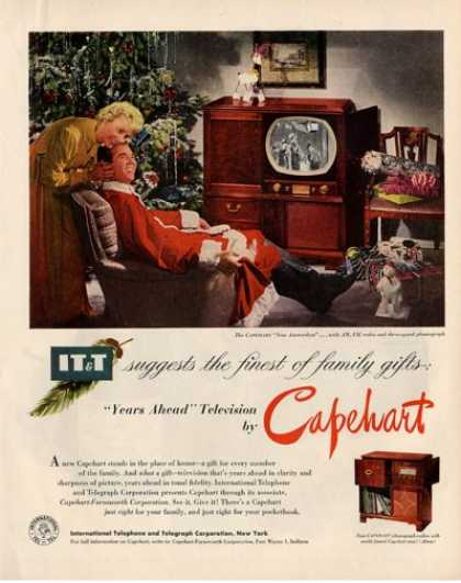 Capehart Amsterdam Tv Radio Phonograph (1950)