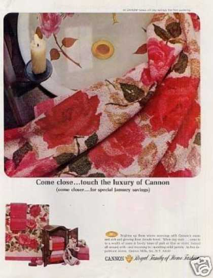 Cannon Towels (1967)