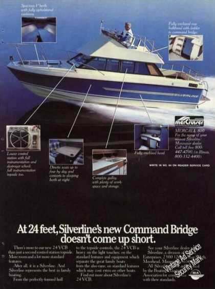 Silverline Command Bridge 24 Boat Photo (1980)