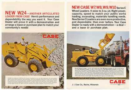 Case W24 W9 Series C Loader 2-Page (1969)