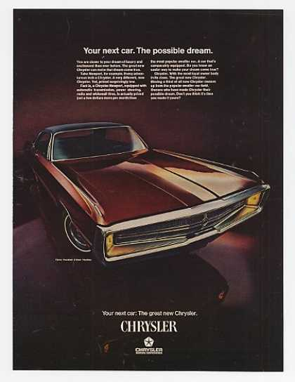 Chrysler 300 2-Door Hardtop Possible Dream (1969)