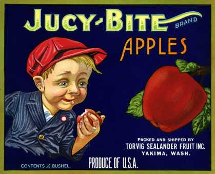 Jucy Bite Apples, c. (1910)