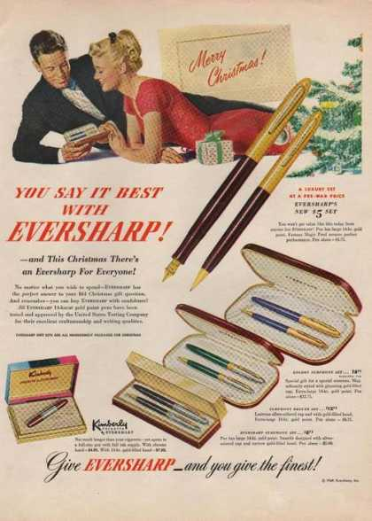 Eversharp Pen & Pencil Set (1949)